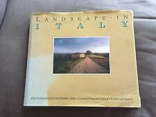 "1989 ""LANDSCAPE IN ITALY"" ILLUSTRATED HARDBACK BOOK"