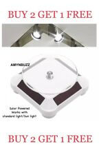 Rotating Display Stand Solar Power Standard/SUN Light for BUY 2 GET 1 FREE
