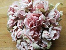 Rose Draht Blüten 150cm Rosengirlande Vintage Girlande Deko Blumengirlande Rosa