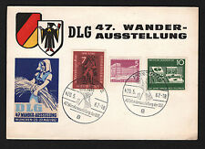 OPC 1962 Germany Munchen Wander Exhibition Card