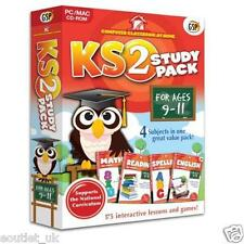 Computer Classroom at Home Key Stage 2 Study Pack For Age 9-11 KS2 Maths English