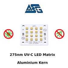UVC LED Modul , 275nm , Flächen-Desinfektion , Luft-Entkeimung , antibakteriell