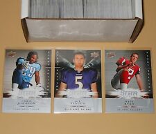 2008 UD Upper Deck First Edition Complete Football Card Set (1-225) Mint