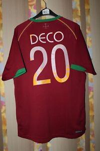 PORTUGAL NATIONAL TEAM 2006/2008 FOOTBALL SHIRT CAMISETA MAILLOT JERSEY #20 DECO