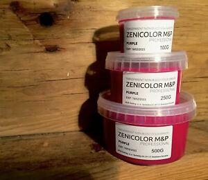 Zenicolor Pro Melt & Pour Colouring System - PURPLE