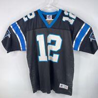 Vintage Kerry Collins Mens Sz L Carolina Panthers Logo Athletic Jersey #12 NFL