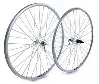 Tru-build 700C Front Trekking Wheel Alloy Hub Mach1 240 Rim 36H Silver