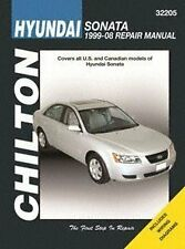 Haynes Repair Manuals Hyundai Sonata, 1999-08