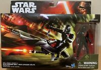 Star Wars The Force Awakens Elite Speeder Bike & Stormtrooper new action figure