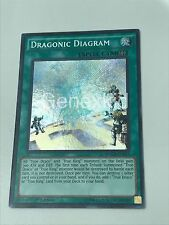 YUGIOH DRAGONIC DIAGRAM MACR-EN053 SECRET RARE 1ST EDITION