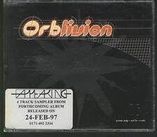 ORB Orblivion ALBUM SAMPLER 4 TRACK PROMO CD