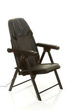 Sharper Image Foldable Massage Chair, Shiatsu Back Massager (Outlet Powered)