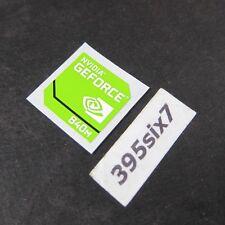 NVIDIA GEFORCE 840M Sticker 17.5mm x 17.5mm