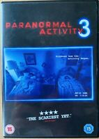 Paranormal Activity 3 DVD 2011 Ghost Poltergeist Haunted House Horror Film Movie