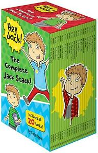 Hey Jack The Complete Jack Stack 20 Books Children Set Paperback - Rippin,Sally