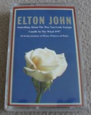 ELTON JOHN - CANDLE IN THE WIND 1997 music cassette tape - nr MINT