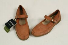 SPERRY Harbour Collection Women's 7 Brown Nubuck Leather Mary Janes Shoes New
