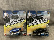 Hot Wheels The Fast & Furious Diecast 1970 Ford Escort RS1600 Ford Victoria 1956