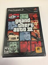 Grand Theft Auto 3 for PS2 NEW Factory Sealed