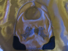 MUNCHKIN BABY BLUE BIB, WITH CHEW ENDS