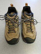 "Merrell  ""Pulse 2"" tan leather, hiking shoes Women's 9 (eur 40)"