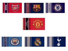 Official Football Crested  Flags (WM)      5FT X 3FT         FREE (UK) P+P