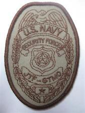 U.S. Navy Security Forces Jtf-Gtmo Guantanamo Bay Cuba patch Usn patch