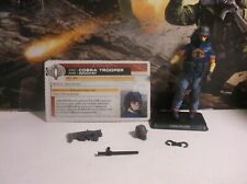 "GI Joe Cobra Trooper 4"" Action Figure 2011 Renegades Loose Complete POC 25th"