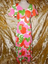 Vintage Kahala Hawaiian 60's 70's Maxi Dress