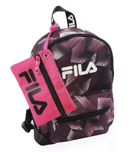 FILA Hailee 2 Piece Mini Backpack with Pouch NWT