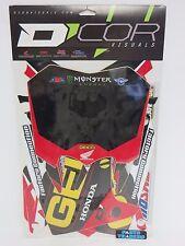 D'COR Visuals Geico Complete Graphics Kit Honda CRF250R 2010 2011 2012 2013
