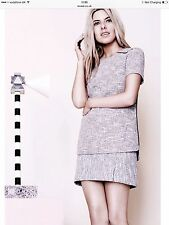 Skirt Matching Outfit Textured Suits & Tailoring for Women