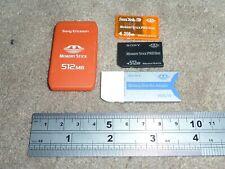 512MB 256MB Tarjeta De Memoria SONY STICK PRO DUO ADAPTADOR caso PLAYSTATION PSP MagicGat