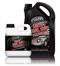 7 Litre Evans Waterless Engine Coolant Auto Cool 180° Kit for Modern Vehicles!