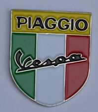 Piaggio Vespa Italian Scooter Shield Quality Enamel Pin Badge