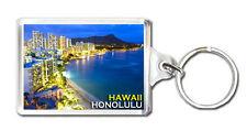 HONOLULU HAWAII MOD4 KEYRING SOUVENIR LLAVERO