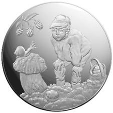 Lettland - 5 Euro 2019 - Geschenke des Waldes - im Etui - 22 gr Silber PP
