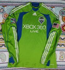 Seattle Sounders Adidas MLS Soccer Long Sleeve Jersey  2008 Inaugural sz L VTG