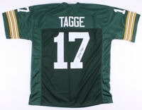 Jerry Tagge Signed Green Bay Packers Football Jersey ~ JSA Authentic Autograph ~