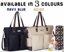 Carry All baby diaper nappy changing bag 2 pcs in beige,navy, olive