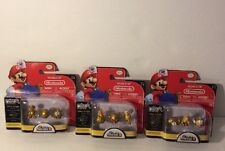 World of Nintendo MICRO LAND 1-3 GOLD SERIES CHASE SET SUPER MARIO BROS 2 FIGURE