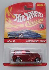 Hot Wheels Classics 8 of 30 Anglia Panel Truck Orange / Red Die-cast Car MOC