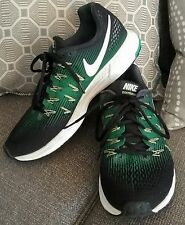 Nike Zoom Pegasus 33 Running/ Cross Trainers, Men's,  Black With Green, Size 9