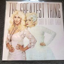 CHER & LADY GAGA - THE GREATEST THING -  RARE 5 TRACK CD PROMO