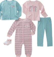 absorba infant girls 5-piece set Sz 6M NWT
