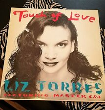 """LIZ TORRES FEATURING MASTER C & J-Touch Of Love 12"""" import Picture Sleeve"""