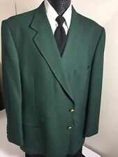 Vtg Hardwick Men TROPICAL GREEN Sport Coat MASTERS Jacket Wool GOLF Blazer 48 R