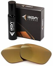 Polarized IKON Replacement Lenses For Von Zipper Elmore Sunglasses Gold Mirror