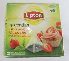 Lipton STRAWBERRY CUPCAKE tea -1 box/ 20 tea bags
