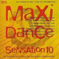 Maxi Dance Sensation 10 (1993) Culture Beat, 2 Unlimited, Ace of Base, .. [2 CD]